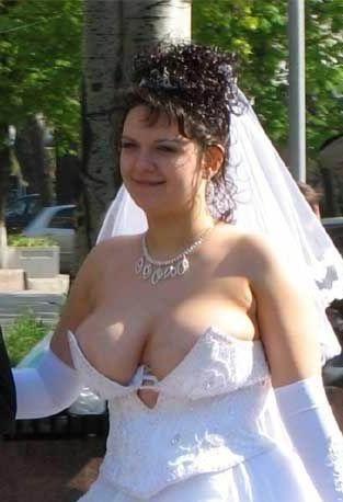 El vestido que arruina el dia a una novia